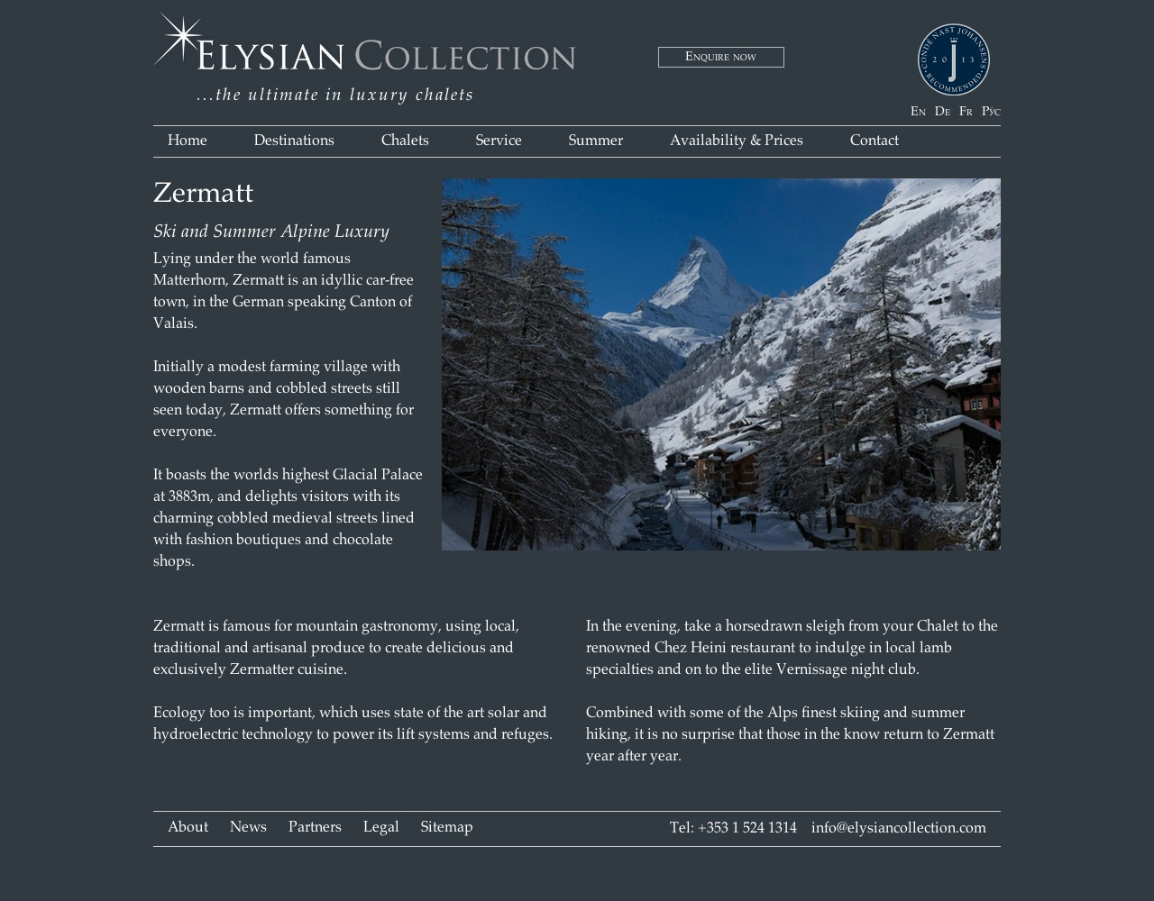Zermatt Resort Guide