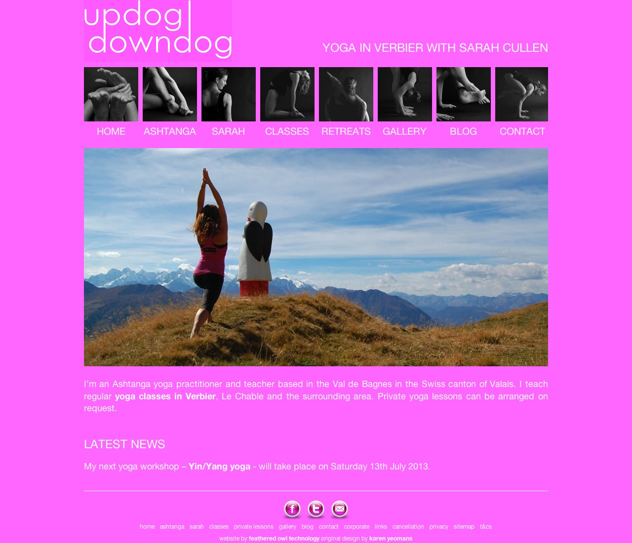 Yoga in Verbier with Sarah Cullen
